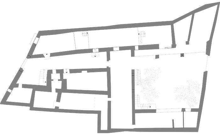 Casa Bosque - Plano planta baja