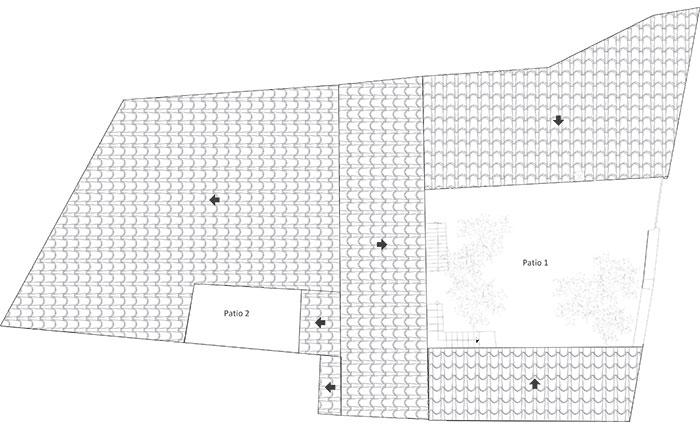 Casa Bosque - Planta cubiertas