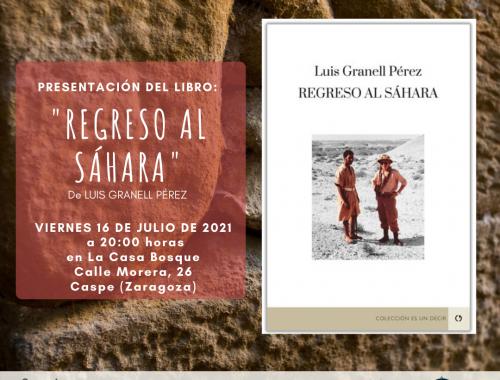 Libro Regreso al Sáhara